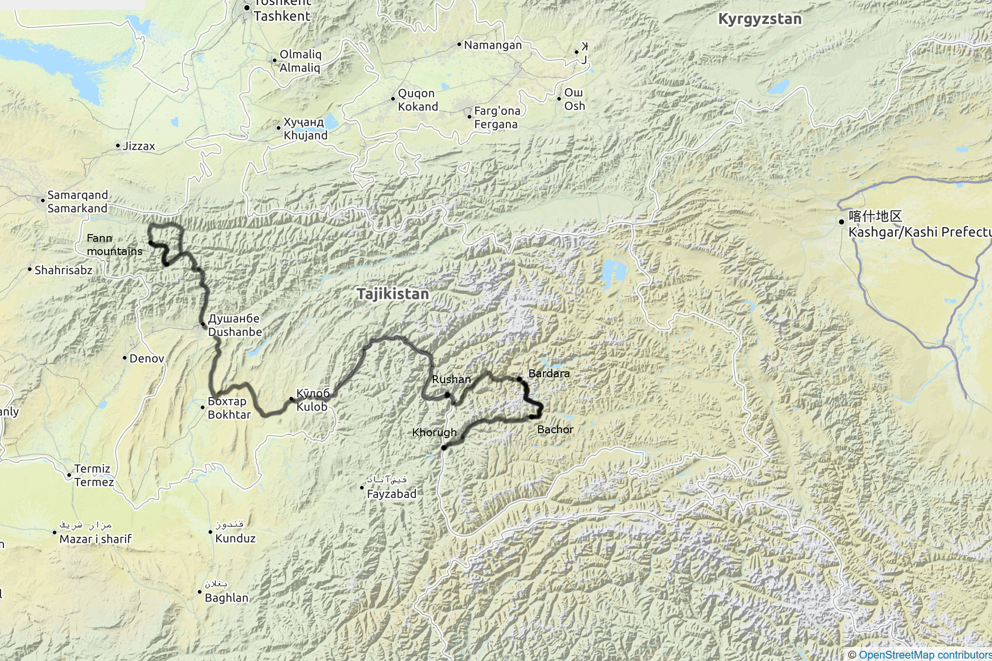 Picture of: Tajikistan Trekking In The Fann Mountains And The Pamir